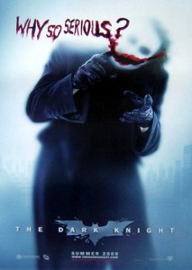 Why So Serious?  Dark Knight Poster